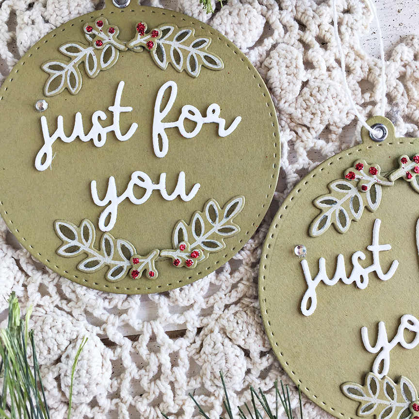 Just For You tags - detail