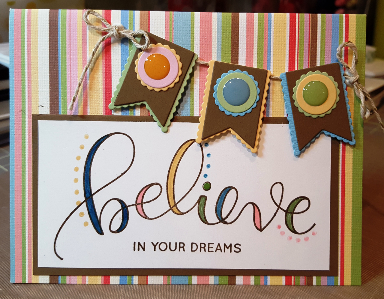 Donna's Designs - Believe with Banner