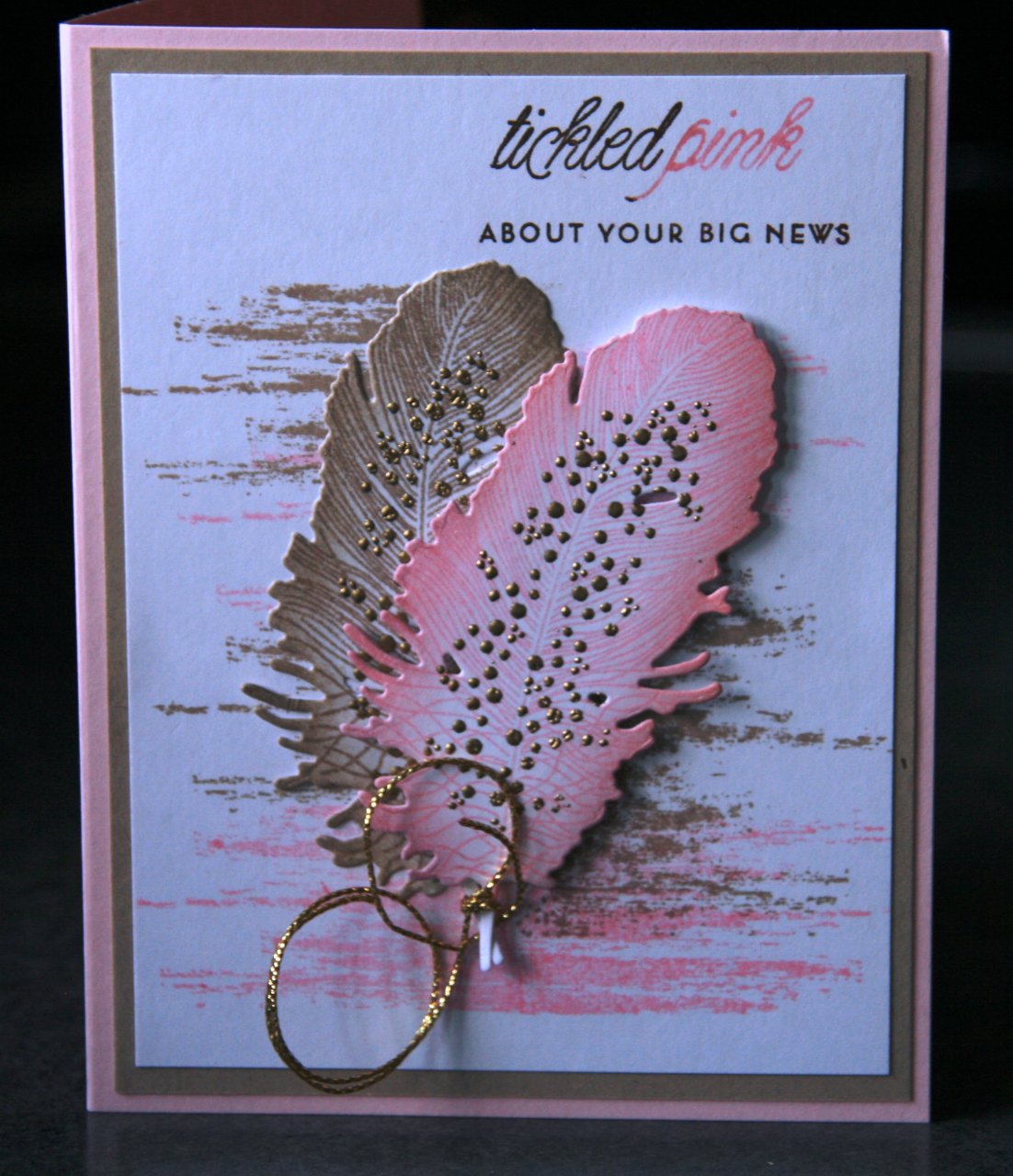 Donna's Designs - Tickled Pink Feathers