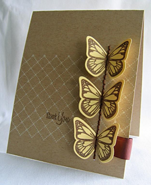 Stamps:  Butterfly Dreams & Background Basics: Tin Types