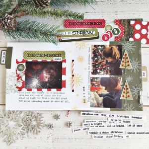 December Journal layout 3