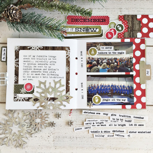 December Journal layout 4