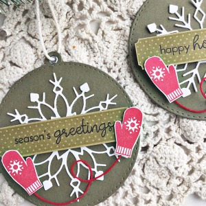 Holiday Season Tags - detail